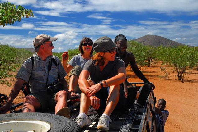 Namibia Safari Begegnung