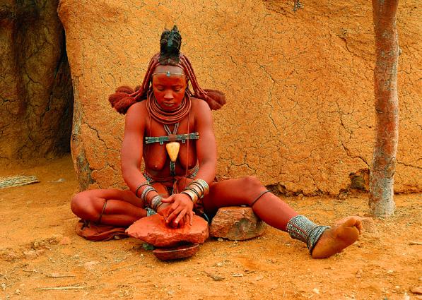 Namibia Safari Himbafrau