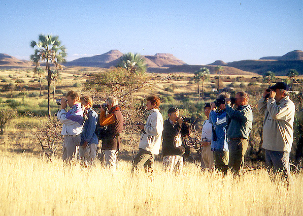 Namibia Safari Wanderung