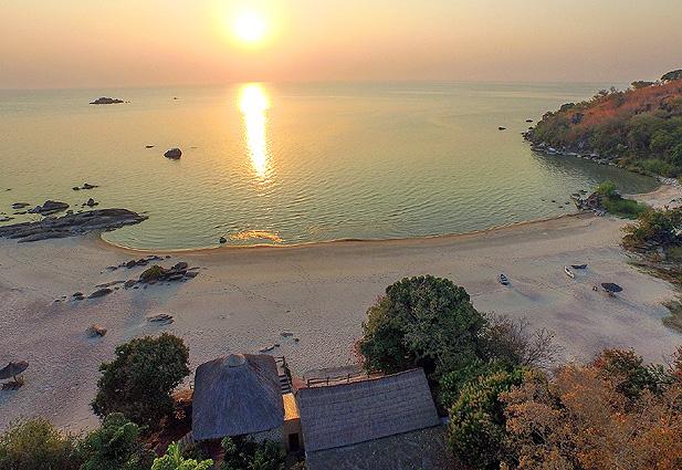 Malawi - Sambia Safari Makuzi-Beach