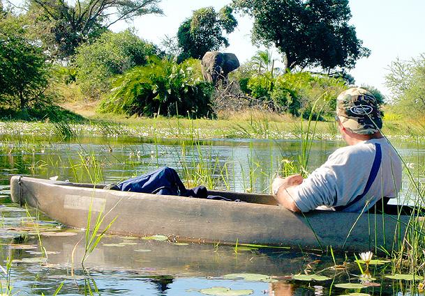 Botswana Safari Mokoro Tour