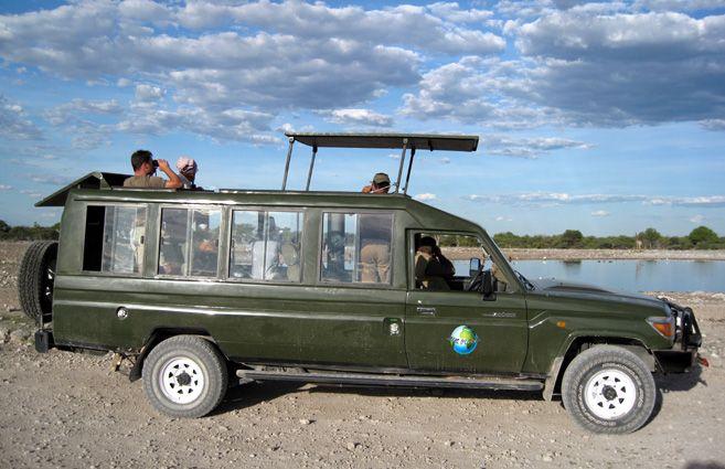 Namibia Safari Landrover