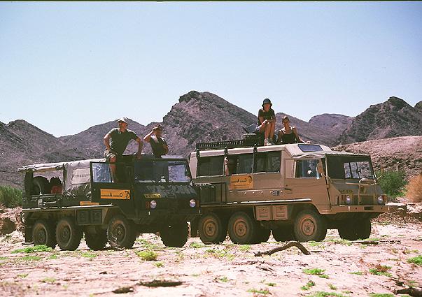 Namibia Safari Pinzgauer