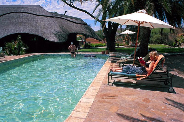 Namibia Safari Duesternbrook Pool