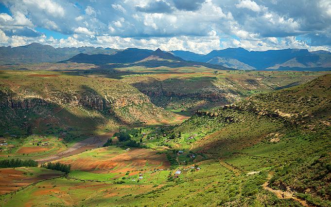 Südafrika Drakensberge