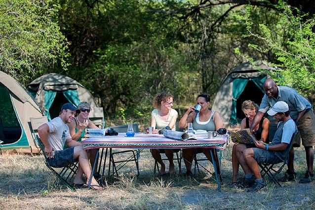 Botswana-Camping